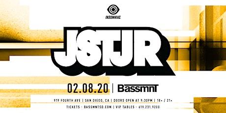 JSTJR at Bassmnt Saturday 2/8 tickets