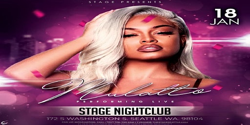 BIG LATTO - Mulatto in SEATTLE at STAGE on JAN 18t