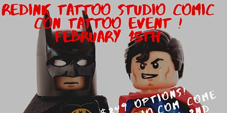 COMIC CON THEMED $35 TATTOO EVENT! tickets
