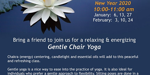 Monday Gentle Chair Yoga