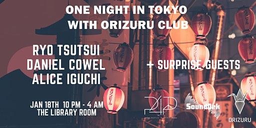 SoundDek & Parties 4 Peace Present One Night in Tokyo