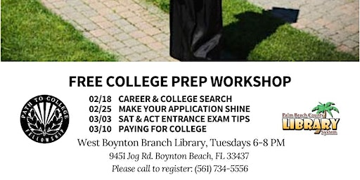 FREE College Prep Workshop Series with Path to College
