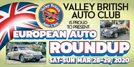 2020 CLOVIS EUROPEAN AUTO ROUNDUP tickets