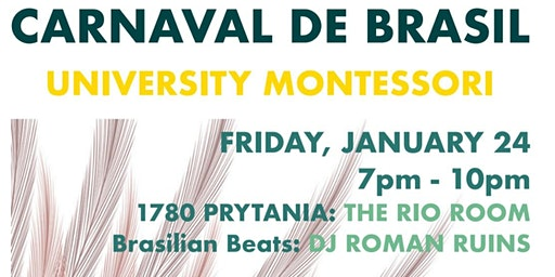 Carnaval de Brasil: Annual Party & Auction for UMS on Friday 1/24/2020