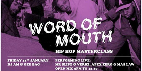 Word Of Mouth (FREE ENTRY) tickets