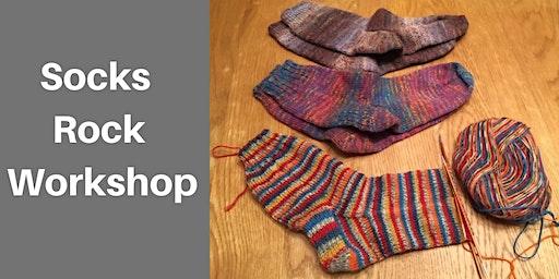 SOCKS ROCK WORKSHOP (2 part workshop)