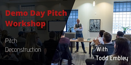 Startup Founder Pitching Workshop tickets