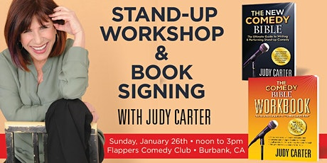 Free Stand-up Comedy Workshop in LA with Judy Carter tickets