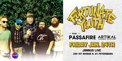FORTUNATE YOUTH & PASSAFIRE w/ ARTIKAL SOUND SYSTEM - St Pete
