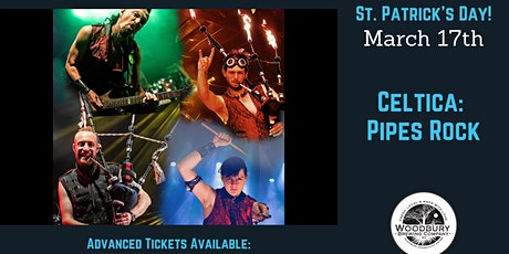 Celtica - Pipes Rock: St. Patrick's Day at the Woodbury Brewing Company tickets