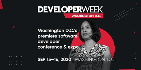 DeveloperWeek DC 2020 tickets