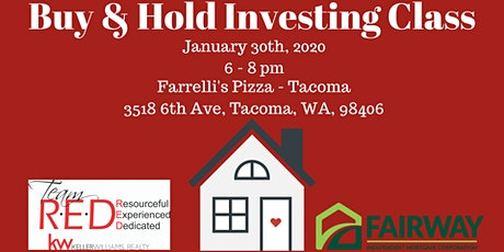 Buy & Hold Real Estate Investing Class tickets