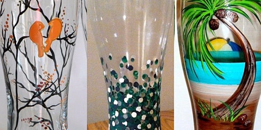 Beer Glass Painting!