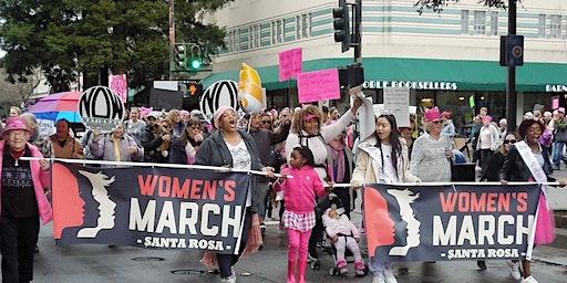 Women's March Santa Rosa 2020