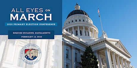 California Target Book 2020 Primary Election Conference: All Eyes On March tickets