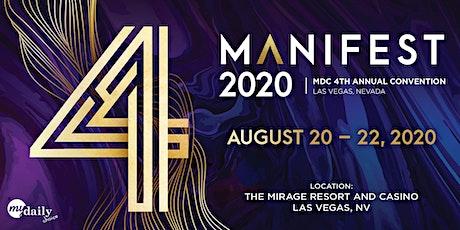Manifest 2020 tickets
