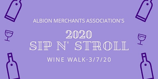 2020 Sip N' Stroll Wine Walk