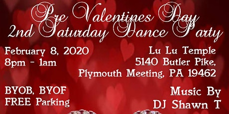 Pre Valentines Day Dance Party tickets