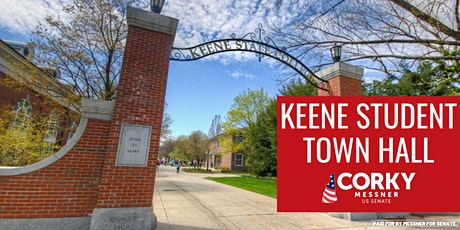 Keene Student Town Hall tickets