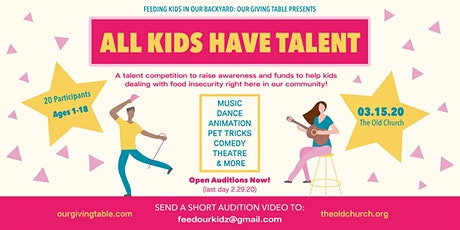 All Kids Have Talent tickets
