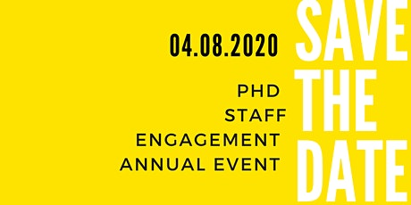 6th Annual PHD Staff Engagement Event: Investing In Us! tickets