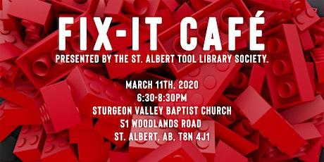 Fix It Cafe - March 11 - Sturgeon Valley Baptist Church tickets