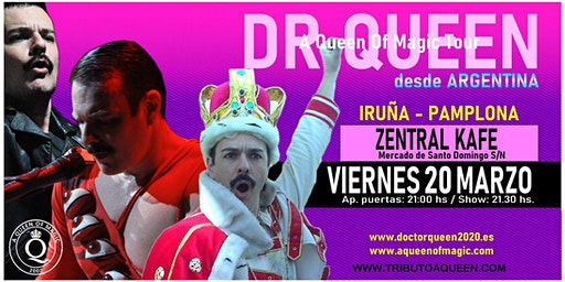 DR QUEEN - A QUEEN OF MAGIC TOUR - PAMPLONA