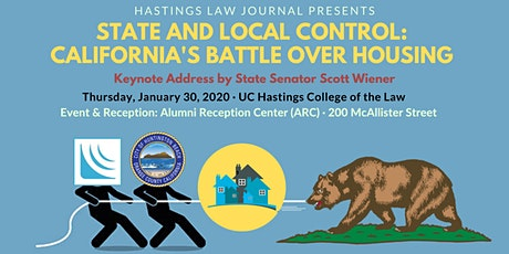 SCOCA Symposium 2020: State & Local Control: CA's Battle Over Housing tickets