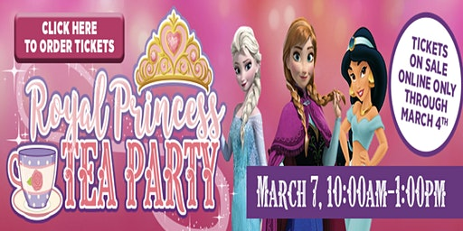 Royal Princess Tea Party Newnan