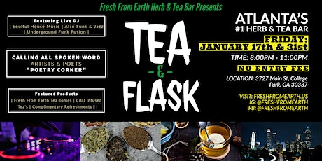 Tea & Flask presented by Fresh From Earth Herb & Tea Bar tickets