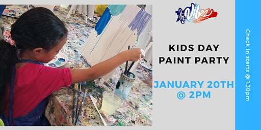 Kids Day Paint Party