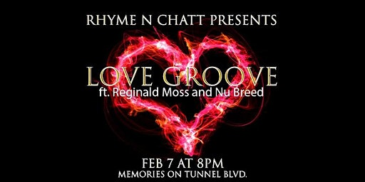 Rhyme N Chatt's LOVE GROOVE Poetry Show - What's Love Got to Do With It?