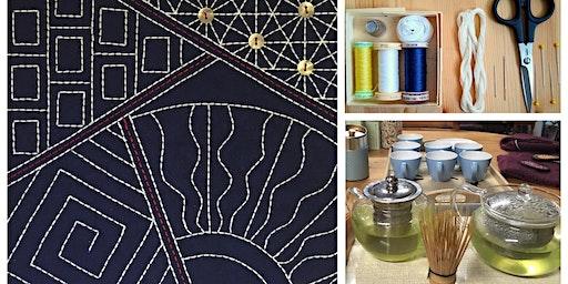 Sashiko Stitching Day - Hand Stitch a Japanese-style Panel