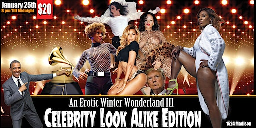 Erotic Winter Wonderland Celebrity Look a Like Edition