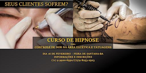 Curso de Hipnose para Controle de Dor na Área Estética e Tatuagens