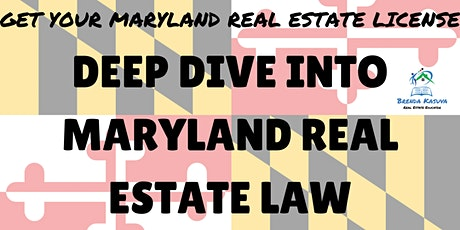 Exam Prep! Maryland Real Estate Law tickets