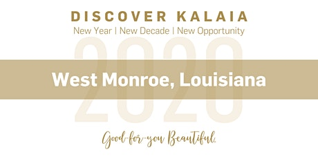 Discover Kalaia - 2020 (Louisiana) tickets