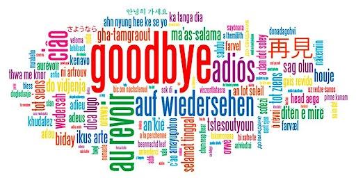 """Wishing Chris Hagerbaumer a fond """"auf Wiedersehen."""""""