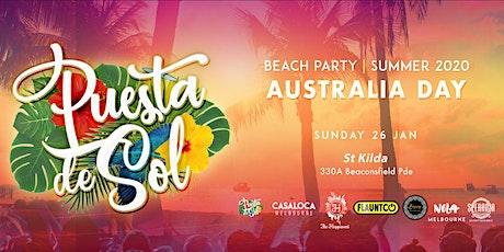 Puesta De Sol Australia Day | Summer Beach Party tickets