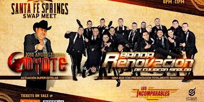 Los Incomparables de Tijuana, Banda Renovacion y El Coyote y su Banda