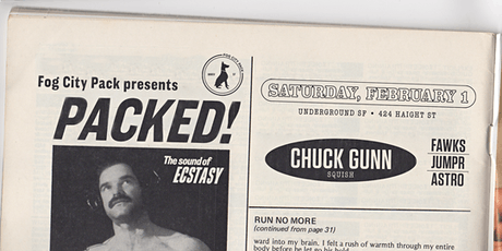 FOG CITY PACK PRESENTS: PACKED with CHUCK GUNN tickets