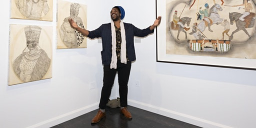 Exhibition Walkthrough and Conversation with Umar Rashid