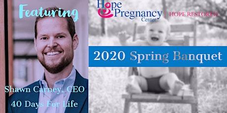 2020 Spring Banquet tickets