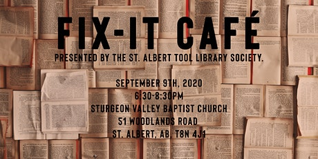 Fix It Cafe - September 9 - Sturgeon Valley Baptist Church tickets