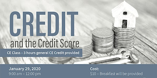 CE Class - Credit and the Credit Score $10