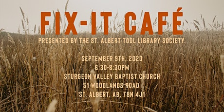 Fix It Cafe - October 14 - Sturgeon Valley Baptist Church tickets