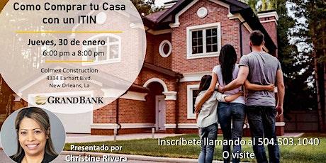 Como Comprar tu Casa con un ITIN billets