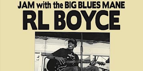 JAM w/ Big Blues Man RL BOYCE tickets