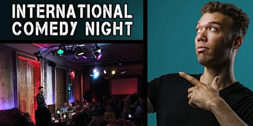 Berlin English Comedy Night w/ Reginald Bärris