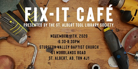 Fix It Cafe - November 11 - Sturgeon Valley Baptist Church tickets